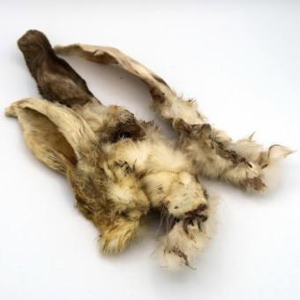 DERA CROC Kaninchenohren mit Fell