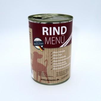 DERA CROC RIND Premium Menü mit Karotte & Distelöl